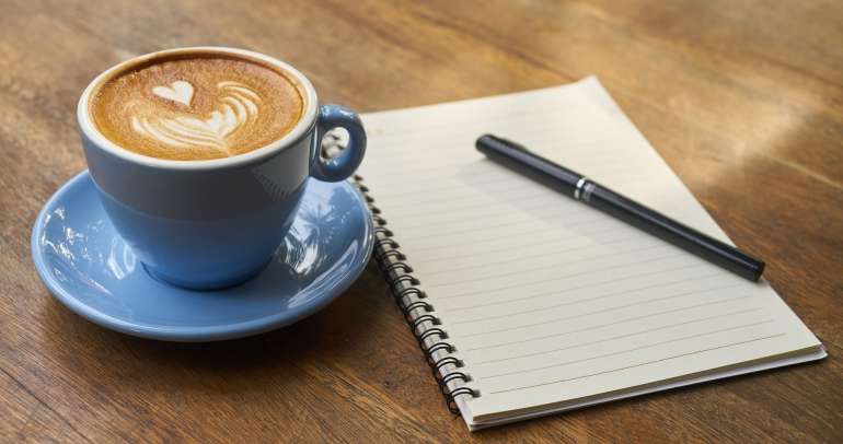 Can you build a business by drinking coffee?